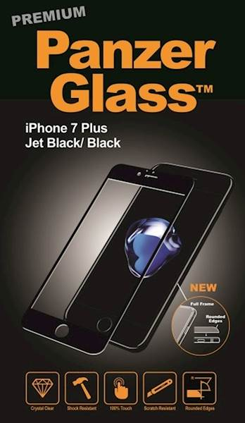 PANZERGLASS PREMIUM  APPLE IPHONE 7/8 PLUS JET BLACK