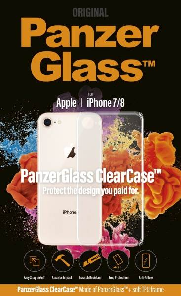 PANZERGLASS CLEAR CASE IPHONE 7/8