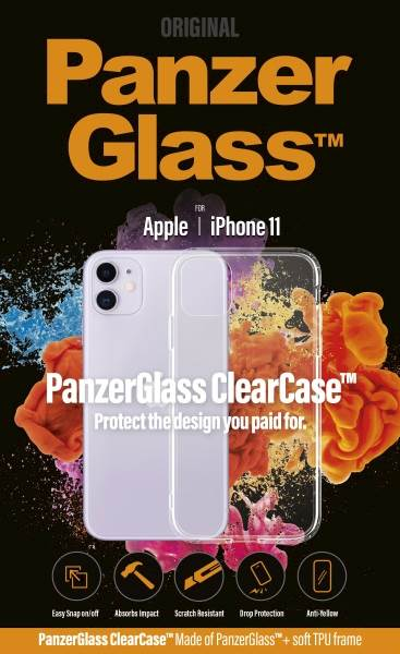 PANZERGLASS CLEAR CASE IPHONE 11