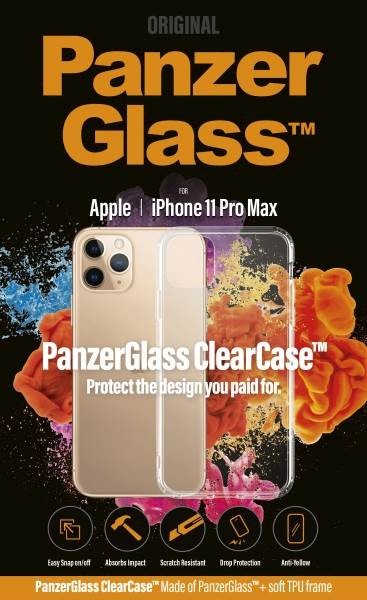 PANZERGLASS CLEAR CASE IPHONE 11 PRO MAX