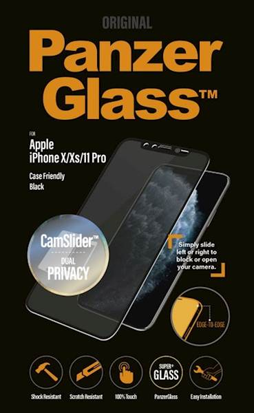 PANZERGLASS IPHONE X/XS/11PRO CF CAMSLIDER PRIVACY