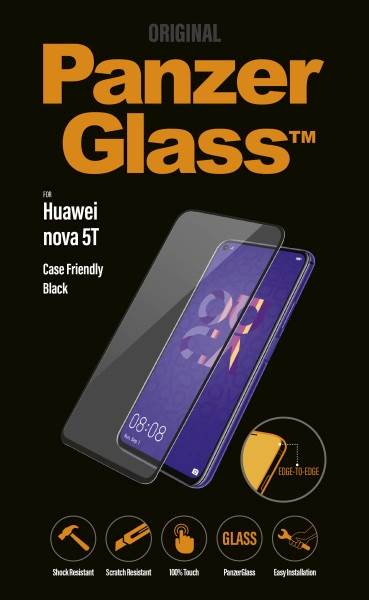 PANZERGLASS HUAWEI NOVA 5T CASE FRIENDLY BLACK