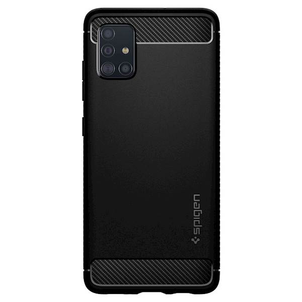 SPIGEN OVITEK GALAXY A51 RUGGED ARMOR BLACK