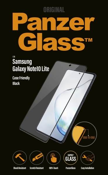 PANZERGLASS GALAXY NOTE10 LITE CF BLACK