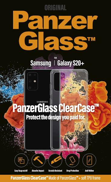 PANZERGLASS CLEAR CASE GALAXY S20+
