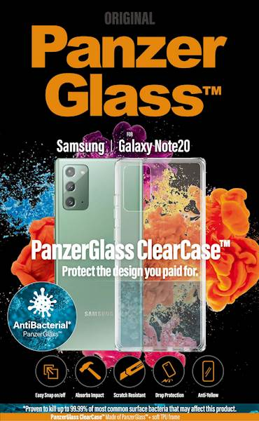 PANZERGLASS CLEAR CASE GALAXY NOTE20
