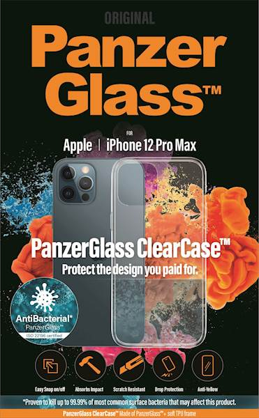 PANZERGLASS CLEAR CASE IPHONE 12 PRO MAX AB