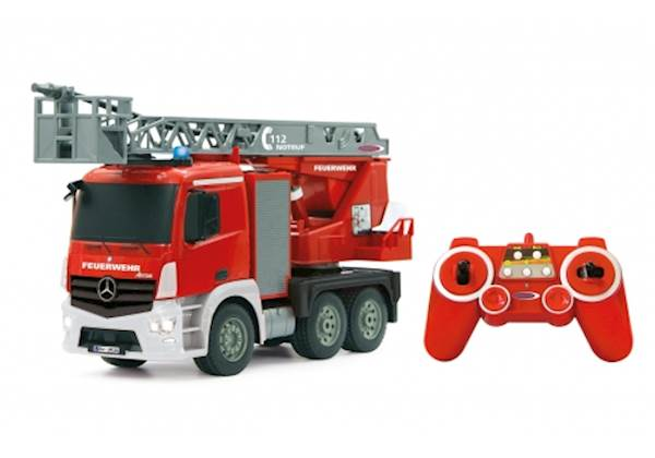 Jamara Fire Truck turnable Ladder Mercedes-Benz Antos 1:20