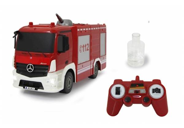 Jamara Fire Truck TLF with spray function Mercedes-Benz