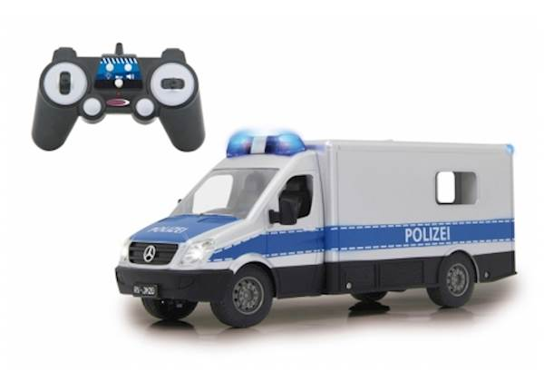 Jamara Mercedes-Benz Police patrol car 1:16 2,4 GHz